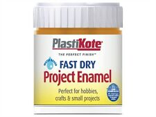 Plasti-Kote Fast Dry Enamel Paint Brush On 59ml 26 COLOURS!! FREE DELIVERY!!
