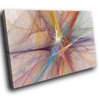 AB1220 pink blue cool Modern Retro Abstract Canvas Wall Art Large Picture Prints