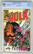 Incredible Hulk  #290  CBCS  9.8  NMMT  White pgs 12/83  1st App. & origin of Ms