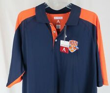 Mens Large Polo Shirt Hope College 100 Years of Football Antigua Force NWT 2009