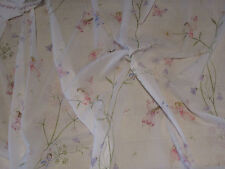 "SANDERSON CURTAIN FABRIC DESIGN ""Fairyland Voile"" 3.9 METRES IVORY (390 CM)"