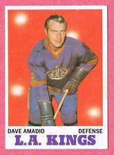 1970-71 70-71 O-PEE-CHEE OPC #33 Dave Amadio SET BREAK
