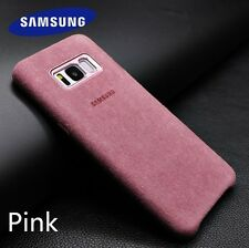 Genuine Official ALCANTARA Case Cover for Samsung Galaxy S8/S8 Plus Boxed