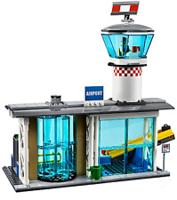 Lego City 60104 Airport Terminal & Supervisor Minifigure Only (split from 60104)