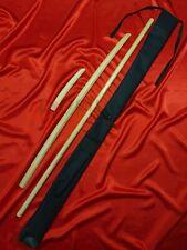 Aikido kit (Bokken klassic 102 cm bokuto, Jo 130 cm, Tanto classic 29 cm, Case)