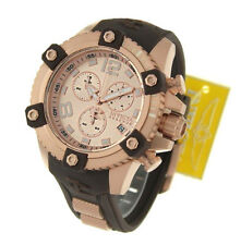 InvictA Brown 80364 Rose Gold Arsenal Reserve Chronogpaph Swiss Ret.$1895   NEW