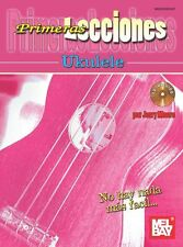 Primeras Lecciones Ukulele Learn to Play UKE Spanish Espanol Music Book & CD