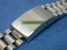 18mm President 70's Style Solid Stainless Steel Replacement Bracelet Watchband