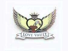 Love Vault Gymnastics Lapel Pin - Spectacular New Cutout Design