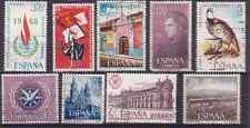 SPAIN. 1965-76 COLLECTION OF 9.