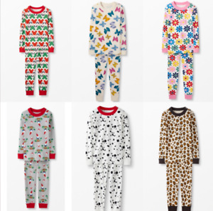 NEW Ex Hanna Andersson Fun Organic Cotton Pyjamas - Ages 2 to 12 Years - RRP £33