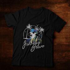 Cartoon Network Johnny Bravo Beach Classic Vintage Look Ultra Cotton T-Shirt