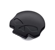 Harley willie g Black skull gas tank fuel cap dyna sportster softail fatboy