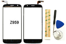 Black Touch Screen Digitizer Glass Lens Replacement For ZTE Grand X3 Z959