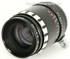 Meyer-Optik TRIOPLAN N 2.8/100 Telephoto Lens 100mm F2.8 for Exakta & Micro 4/3