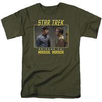 Star Trek Original Mirror Mirror TV Show T-Shirt Sizes S-3X NEW
