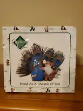 """Charming Tails """"Proud as a Peacock of You"""" Fitz and Floyd Mice Figurine"""