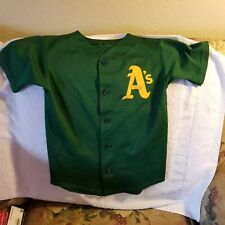OAKLAND A'S JERSEY - YOUTH/TODDLER SMALL - THROWBACK