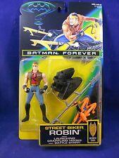 Batman Forever 1995 Street Biker Robin – MIMP - Kenner Action Figure