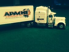 NEW 1/64 SCALE DIE CAST LIBERTY TRACTOR / TRAILER APACHE 379 Peterbilt