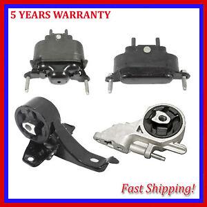 For Chevrolet Malibu Pontiac G6 3.5L Engine Motor & Automatic Trans Mount 4PCS