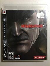 ⭐️Metal Gear Solid 4: Guns of the Patriots (Sony PlayStation 3, 2008) Bin-3