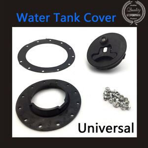 Universal Water Tank Cover Filler Plate Fittings Car Modification Quality ABS