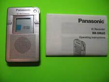 Panasonic Rr Dr60 Digital Ic Recorder Evp Ghost Hunt Rare Early Original Version