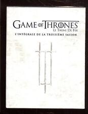 GAME OF THRONES ( ROYAUME DE FER)   Intégrale saison 3   BLU-RAY   ZONE 2