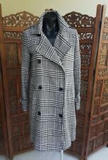 Houndstooth Polyester Coats & Jackets for Women