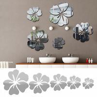 Blüte Blumen Spiegel Wandtattoo Aufkleber Sticker Wohnzimmer Bad Wand Deko de!