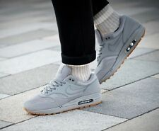BNWB & Authentic Nike ® Air Max 1 Trainers in Grey with Gum Sole UK Size 7
