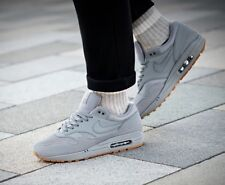 ❤ BNWB & Authentic Nike ® Air Max 1 Trainers in Grey with Gum Sole UK Size 6