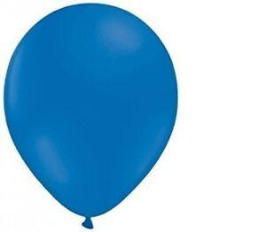 """KRAFTZ® - Pack of 50 - 12"""" Standard Dark Blue Latex Balloons for Birthday"""