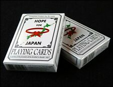 Carte da gioco Bicycle HOPE FOR JAPAN by DR.LEON,poker
