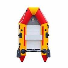K 7.5ft Inflatable Boat Dinghy Raft Kayak Aluminum Alloy Floorboard for 2 Person