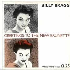 """Billy Bragg - Greetings To The New Brunette - 7"""" Vinyl Record Single"""