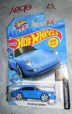 Us Walmart '96 Porsche Carrera ☆ 2019 Hot Wheels Nightburnerz Blue Exclusive