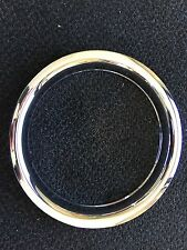 "(4) 15"" Chrome Trailer Wheel Trim Ring Covers SHARP!!  1503 Phoenix USA"