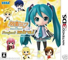 Used 3DS Hatsune Miku Future Stars: Project Mirai NINTENDO 3DS JAPANESE  IMPORT