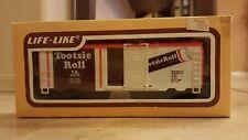 New In Box Ho Scale Model Train Life Like Tootsie Roll Tank Box Car Engine