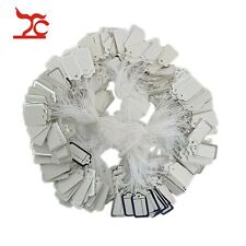 100Pcs Label Tie String Strung Jewelry Clothing Merchandise Display Price Tags