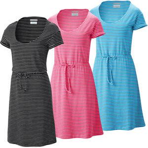 "New Womens Columbia ""Reel Beauty II"" Omni-Shade Omni-Wick Short Sleeve Dress"