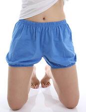 RTBU Iyengar Yoga Dance Practice Pilates Bloomer Exercise Shorts Crayon Blue