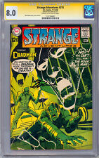 STRANGE ADVENTURES #215 CGC-SS 8.0 *SIGNED BY NEAL ADAMS* STORY COVER & ART 1968