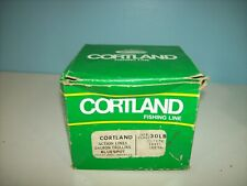 Cortland Dacron Braided Fishing Line 30 Lb BLUESPOT - Braided Trolling Line USA