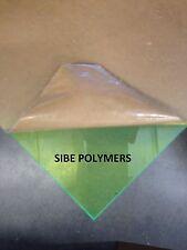 "Green Fluorescent Acrylic Plexiglass Sheet 1/8"" x 12"" x 12"" #9093"