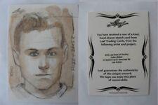 2012-13 Leaf Best of Hockey Hobey Baker 1/1 sketch 1 of 1 RARE #3