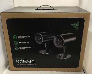 Razer Nommo Chroma 2.0 Gaming PC Speaker - Black