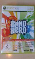 BAND HERO BRILLIANT RARE CLASSIC MICROSOFT XBOX 360 GAME PAL VGC 65 SONGS